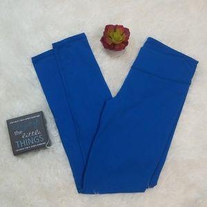 Fabletics Small Leggings Regular Length Bright Blu